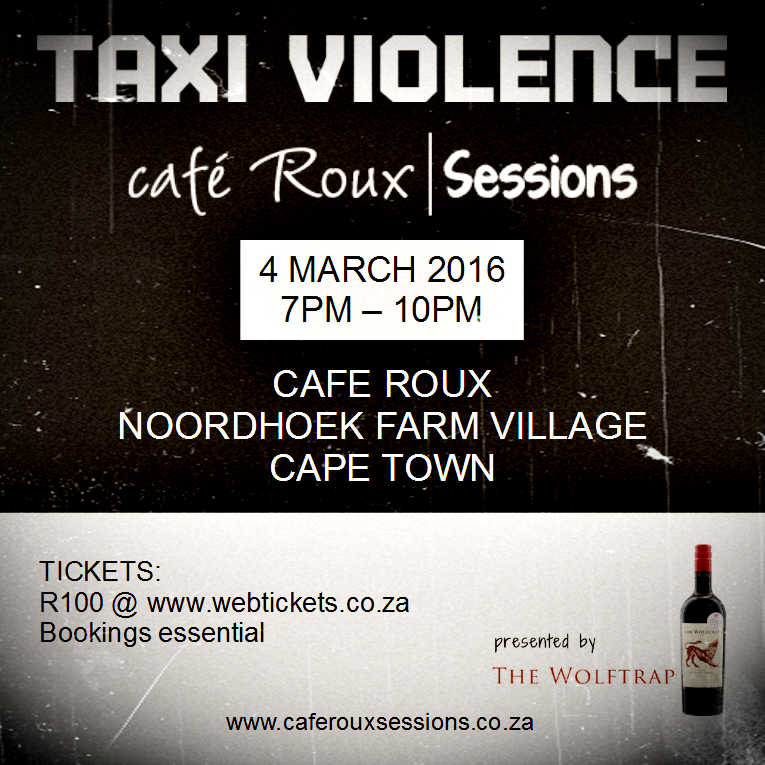 Taxi Violence Cafe Roux